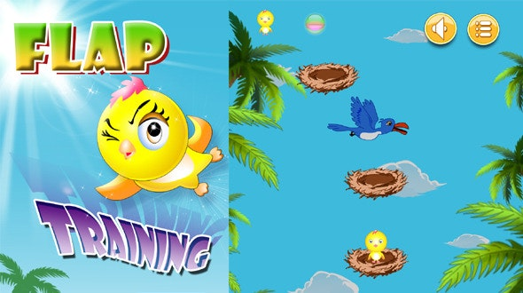 Flap Training Game With AdMob - CodeCanyon Item for Sale