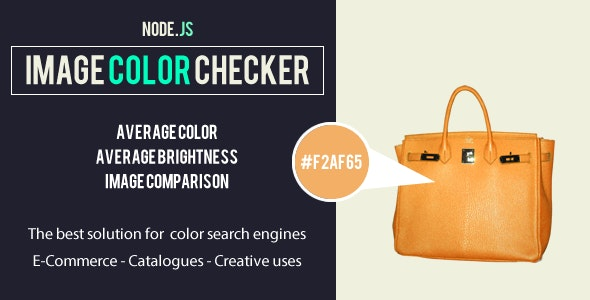 Image Color Checker - CodeCanyon Item for Sale