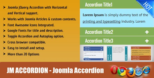 JM Joomla Accordion