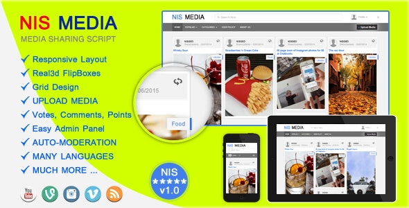 NIS MEDIA - CodeCanyon Item for Sale