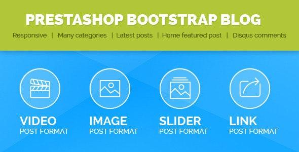 Prestashop Bootstrap  Blog  - CodeCanyon Item for Sale