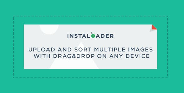 InstaLoader - Upload and Sort Multiple Images