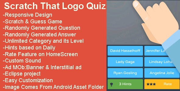 Scratch That Logo Quiz