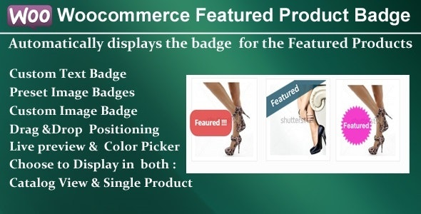 Woocommerce Featured Product Badge - CodeCanyon Item for Sale