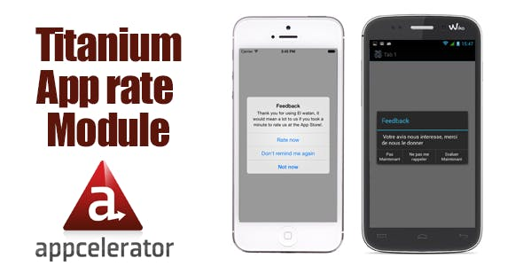 Titanium App rating module for Ios and Android