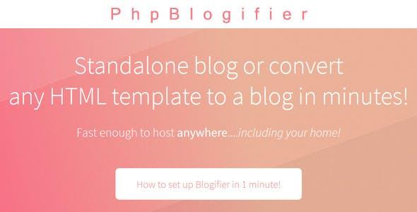 PhpBlogifier