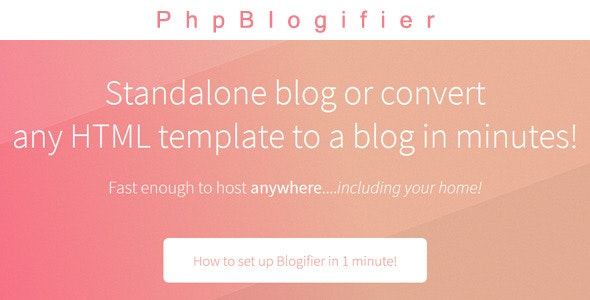 PhpBlogifier - CodeCanyon Item for Sale