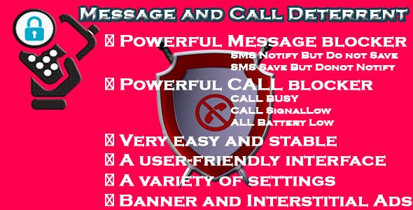 Message and Call Deterrent