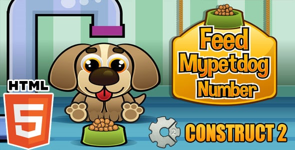 Feed Mypetdog Number - Educational HTML5 Game (CAPX) - CodeCanyon Item for Sale