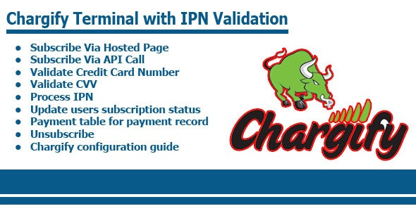 Chargify Terminal With IPN Validation - CodeCanyon Item for Sale