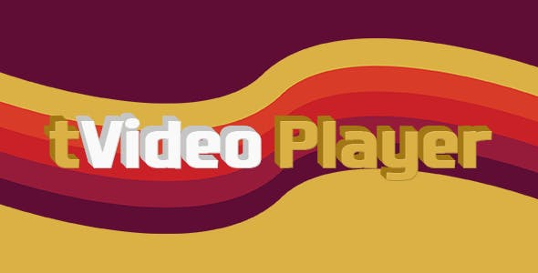 tVideo Player - HTML5 video player (with playlist)