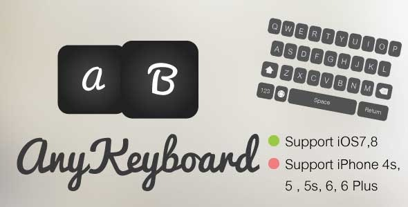AnyKeyboard [Portrait] - CodeCanyon Item for Sale