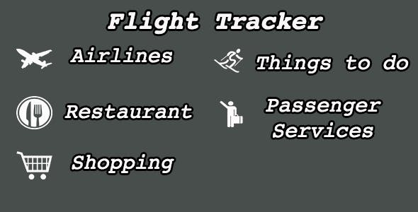 Flight Tracker with iAd & Admob and TouchId