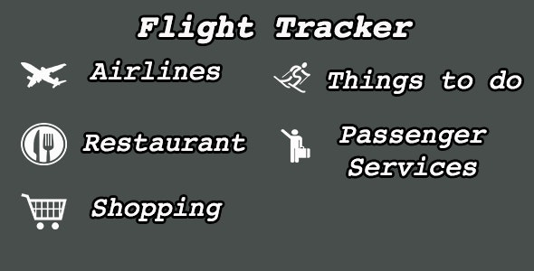 Flight Tracker with iAd & Admob and TouchId - CodeCanyon Item for Sale