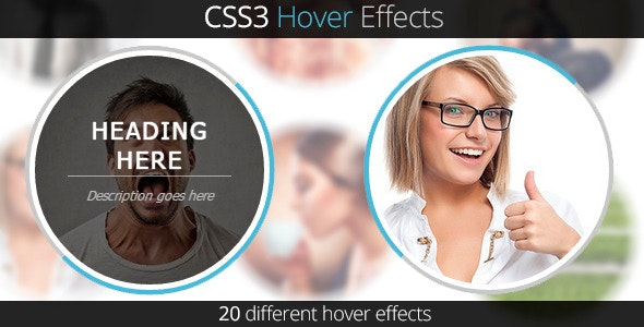 CSS3 Hover Effects - CodeCanyon Item for Sale