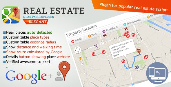 Real Estate near places