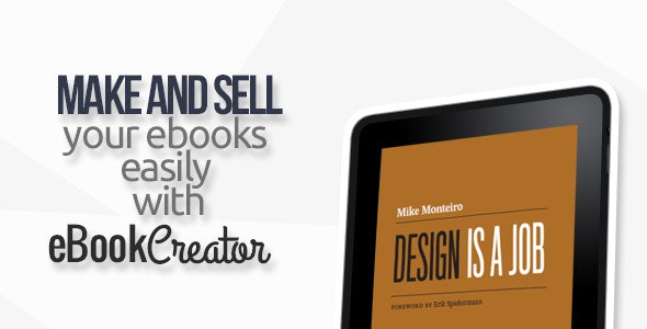 eBook Creator – Online eBook creation system - CodeCanyon Item for Sale