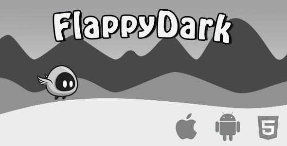 Flappy Dark - Html5 Game