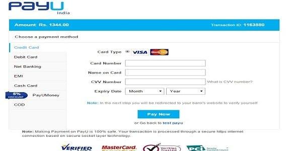 PayU India Plugin NopCommerce 3.40