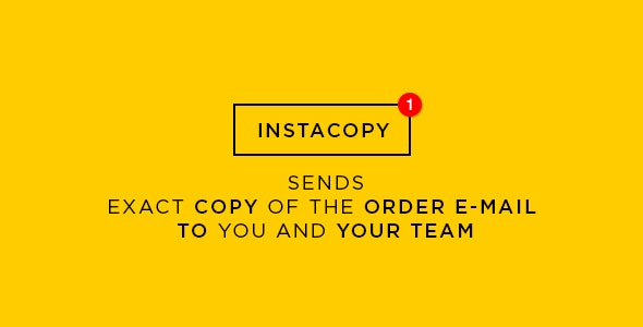 Exact Copy of the Order Confirmation Mail - CodeCanyon Item for Sale
