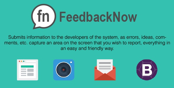 FeedbackNow, a Feedback with Screenshot - CodeCanyon Item for Sale