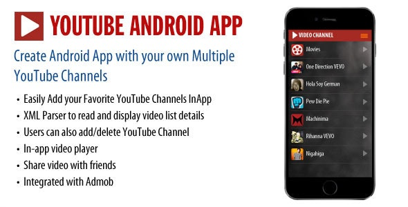 YouTube Android App - CodeCanyon Item for Sale