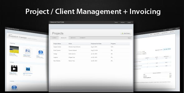 Advanced Client Portal