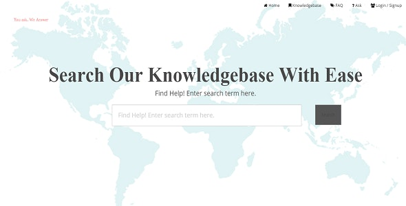 FAQ Support Ticket System Knowledgebase - CodeCanyon Item for Sale