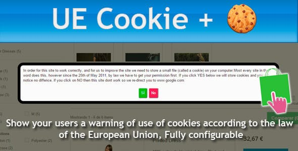 Prestashop UE Cookie + European Cookies Law
