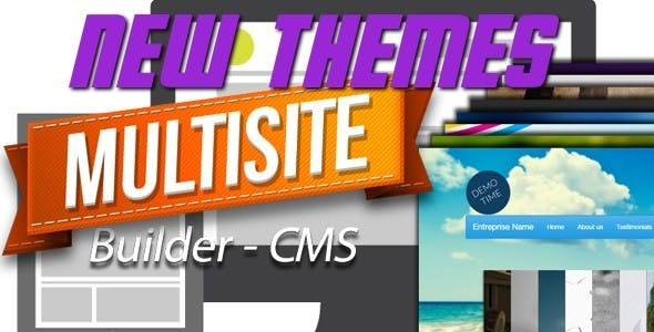 New Themes for MultiSite Builder CMS
