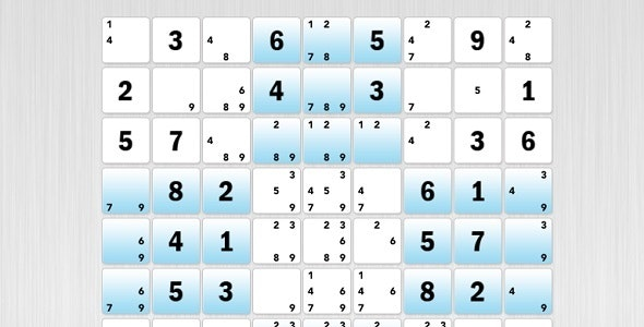 Sudoku Contest - CodeCanyon Item for Sale