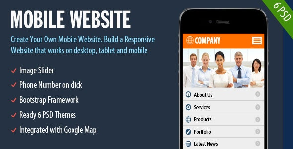 Mobile Website - CodeCanyon Item for Sale