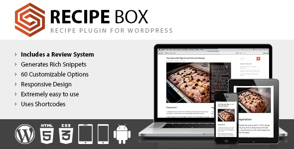 Recipe Box - Recipe Plugin for WordPress