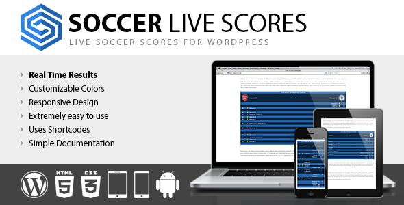 Live Score Soccer Plugins, Code & Scripts from CodeCanyon