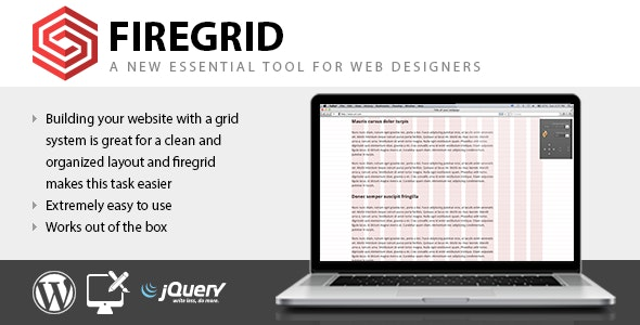 FireGrid for WordPress - Tool for web designers - CodeCanyon Item for Sale