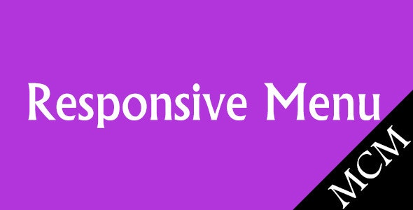 Magento Responsive Menu - CodeCanyon Item for Sale
