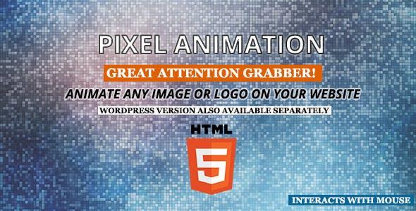 Pixel Animation HTML5
