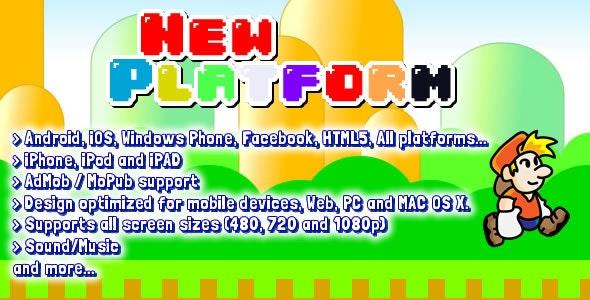 Platform 2D Game Starter Kit - CodeCanyon Item for Sale