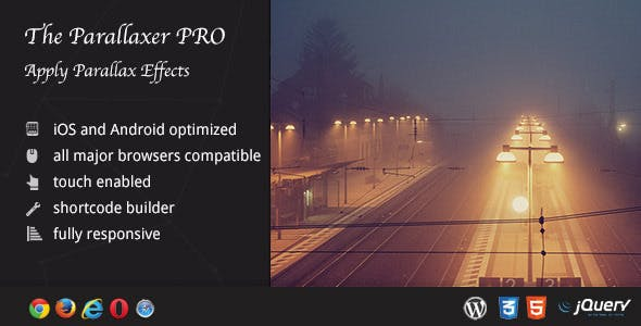 The Parallaxer WP - Parallax Effects on Content        Nulled