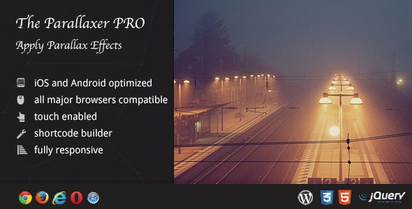 The Parallaxer WP - Parallax Effects on Content - CodeCanyon Item for Sale