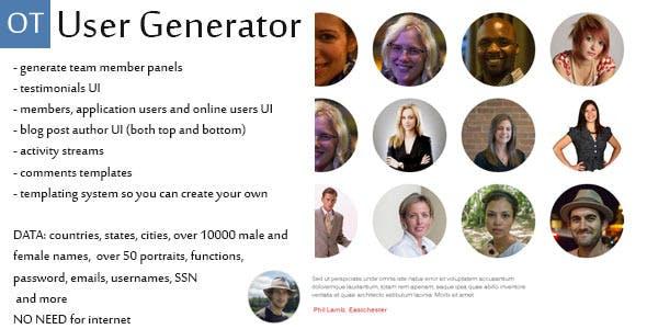 User Generator