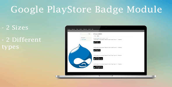 Drupal Google PlayStore Badge Shortcode - CodeCanyon Item for Sale
