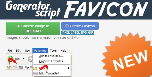 Favicon Generator Script V2 - Quickly & Classically