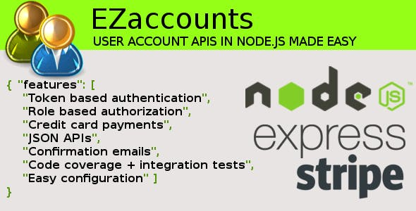 NodeJs Ez Accounts