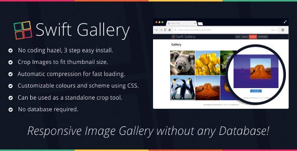 Swift Gallery & Crop / Compression Tool