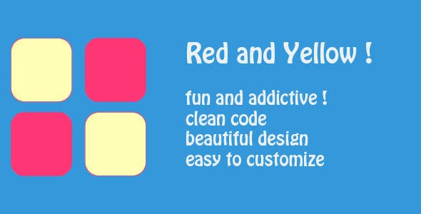 Red and Yellow - Addictive game - admob integrated