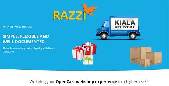 Kiala Shipment Module