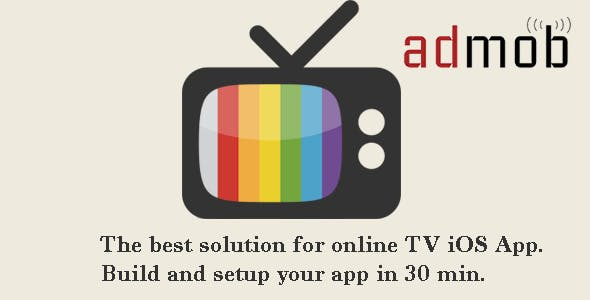 AlbTV-Streaming TV for iPhone and iPad iOS8, Admob