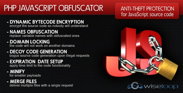 PHP Javascript Obfuscator - CodeCanyon Item for Sale