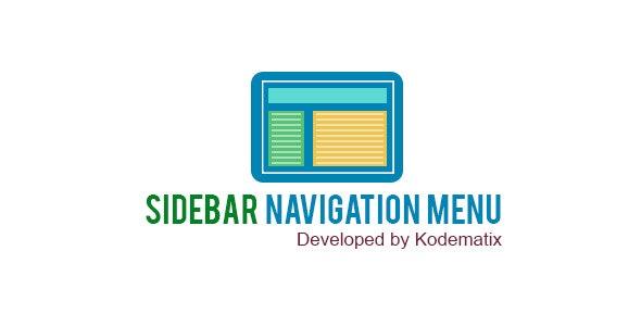 Sidebar Navigation Menu - CodeCanyon Item for Sale